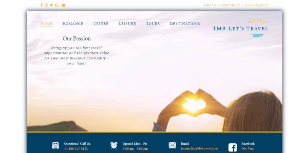 TMB Lets Travel - Home